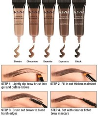 NYX Eyebrow Gel - CHOCOLATE