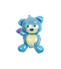 Mini Blue bear Balloon | Balon Foil Baby Shower