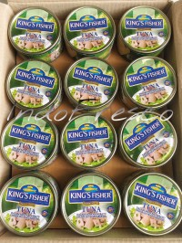 King's Fisher Tuna in Oil- Tuna Kaleng 170g- 1Dus KHUSUS GOSEND