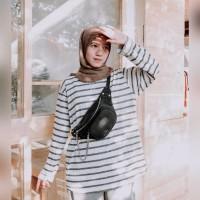 Tas Pinggang Waist Bag Wanita Chain