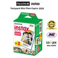 Fujifilm Refill Polaroid Instax Mini Film Twinpack Plain - 20 Lembar