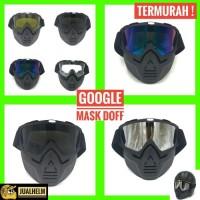 Kacamata Google Mask/Kacamata Google Masker Lensa Rainbow
