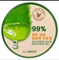 The Saem-Jeju Fresh Aloe Vera Soothing Gel 99% Made in Korea Original