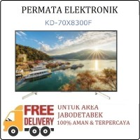 Sony Bravia KD-70X8300F 70 Inch UHD 4K Smart Android LED TV KD70X8300F
