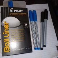 Pulpen Pilot Balliner 0.8 /pack 12pc