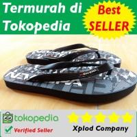 Sandal Jepit Pria New Era Motif Doreng New Era Seal Produk Baru