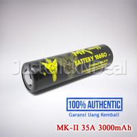 Authentic MK-II 35A 3000mAh Baterai Vape Not LG HG2 AWT VTC5 VTC6 30Q