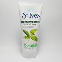 ST. IVES BLACKHEAD CLEARING FACE SCRUB GREEN TEA MURAH IMPORT