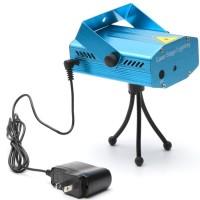 Mini Laser Stage Lighting Sensor Music / Lampu Disco / Party Laser