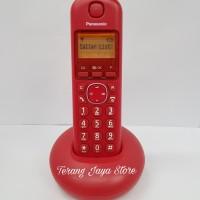 Telepon Wireless Phone Panasonic KX-TGB210 Telepon rumah (Merah)