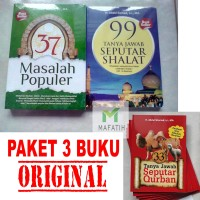 Buku 37 Masalah Populer 99 Tanya Jawab Shalat 33 Qurban - Abdul Somad