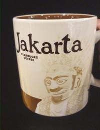 Authentic Starbucks Mug Jakarta, Bali, Kuta
