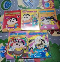 Bursa komik 2nd crayon shinchan komik permainan