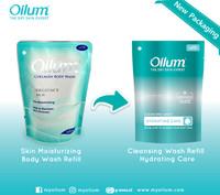 Oilum Collagen Body Wash Skin Moisturizing & Brightening Scrub Pouch