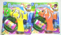 Mainan Pistol Gelembung Udara/bubble gun Karakter lumba-lumba