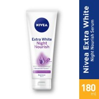Nivea Body Serum Night Whitening Tube 200ml