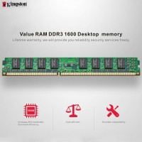 Memory RAM Desktop PC KINGSTON 8GB DDR3 PC-12800 1600Mhz(LONGDIMM)