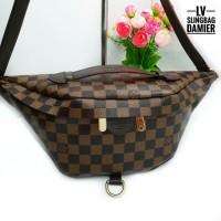 Lv wanita bumbag sling/tas pinggang/tas selempang