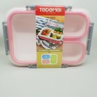 Kotak Makan Lunch Box TEDEMEI Anti Tumpah Anti Bocor BPA Free 1.35L