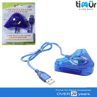 Converter USB 2 Slot Stik Stick PS2 ke PS3 / PC Double