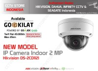 Hikvision CCTV IP CAM DS-2CD1121-I 2MP DOME INDOOR POE WDR
