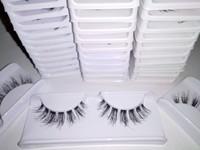 Bulu mata palsu 3D murah lusinan human hair Eyelashes