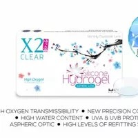 SOFTLENS X2 SANSO CLEAR / Softlens Bening