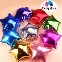 Balon Foil Bintang / Balon Foil Star Mini 20cm