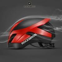 ROCKBROS TT-30 Bike EPS Reflective Helmet 3 in 1 - Helm Sepeda - RED