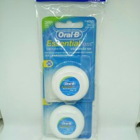 Oral b dental floss waxed 1 pack isi 2