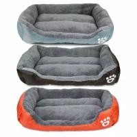 Tempat tidur anjing kucing pet bed kasur ranjang kucing anjing 90x70cm