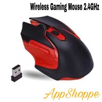 Mouse Wireless GAMING MOUSE 6D MIRIP REXUS AVIATOR S5 USB 2.4GHz R-RED