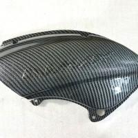 cover filter udara carbon nmax / tutup air filter karbon bukan cvt