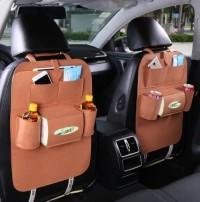 283 - elegant car organizer rak belakang kursi mobil