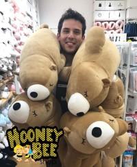 Japan Quality - Large Bear Doll Miniso Boneka Beruang Besar Import