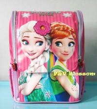 Tas Sekolah Anak Tas Ransel Backpack TK Jepang FROZEN FEVER