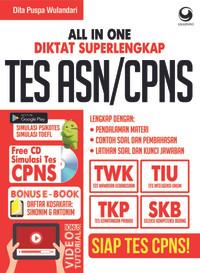 Buku All In One Diktat Superlengkap Tes ASN CPNS Free CD