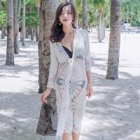SUNFLOWER Outer Beach Top Kimono Bikini Outer Cover Up Baju Renang