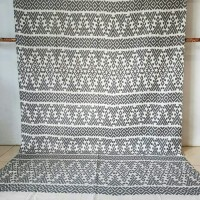 tenun ikat troso   kain woven batik tenun jepara blanket antik ethnic