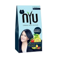 NYU CREME HAIR COLOR BLUE BLACK 1.10