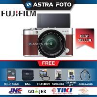 FUJIFILM X-A3/XA3 KIT 16-50MM PAKET DAHSYAT 16GB, BROWN,PINK,BLACK