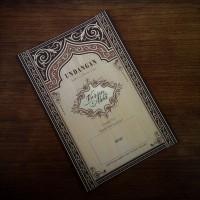 Undangan Pernikahan Vintage Batik (88187)