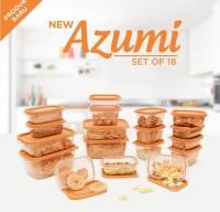 azumi set of 18 /wadah penyimpanan makanan/tempat simpan serbaguna