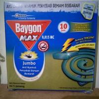Baygon Max, Jumbo anti nyamuk bakar isi 5 pasang