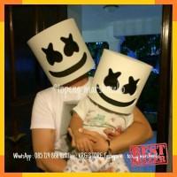 Mainan & Hobi Lainnya - helm / Topeng dj marshmellow / marshmello