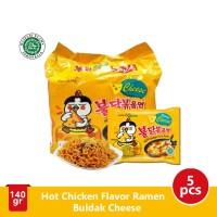Samyang Hot Chicken Ramen Cheese 140 gr @5pcs