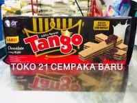Tango Wafer CHOCOLATE 130 gr   Biskuit Coklat Cokelat Tango Murah 130g