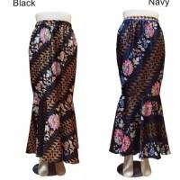 Rok panjang instan duyung maxi skirt livo batik