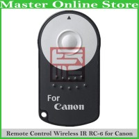 Remote Control Shutter Release Wireless Infrared IR RC-6 Camera Canon