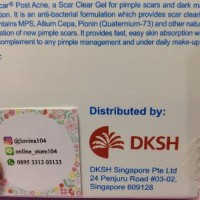 PROMO Hiruscar Post Acne Obat Jerawat Original Singapor Berkualitas